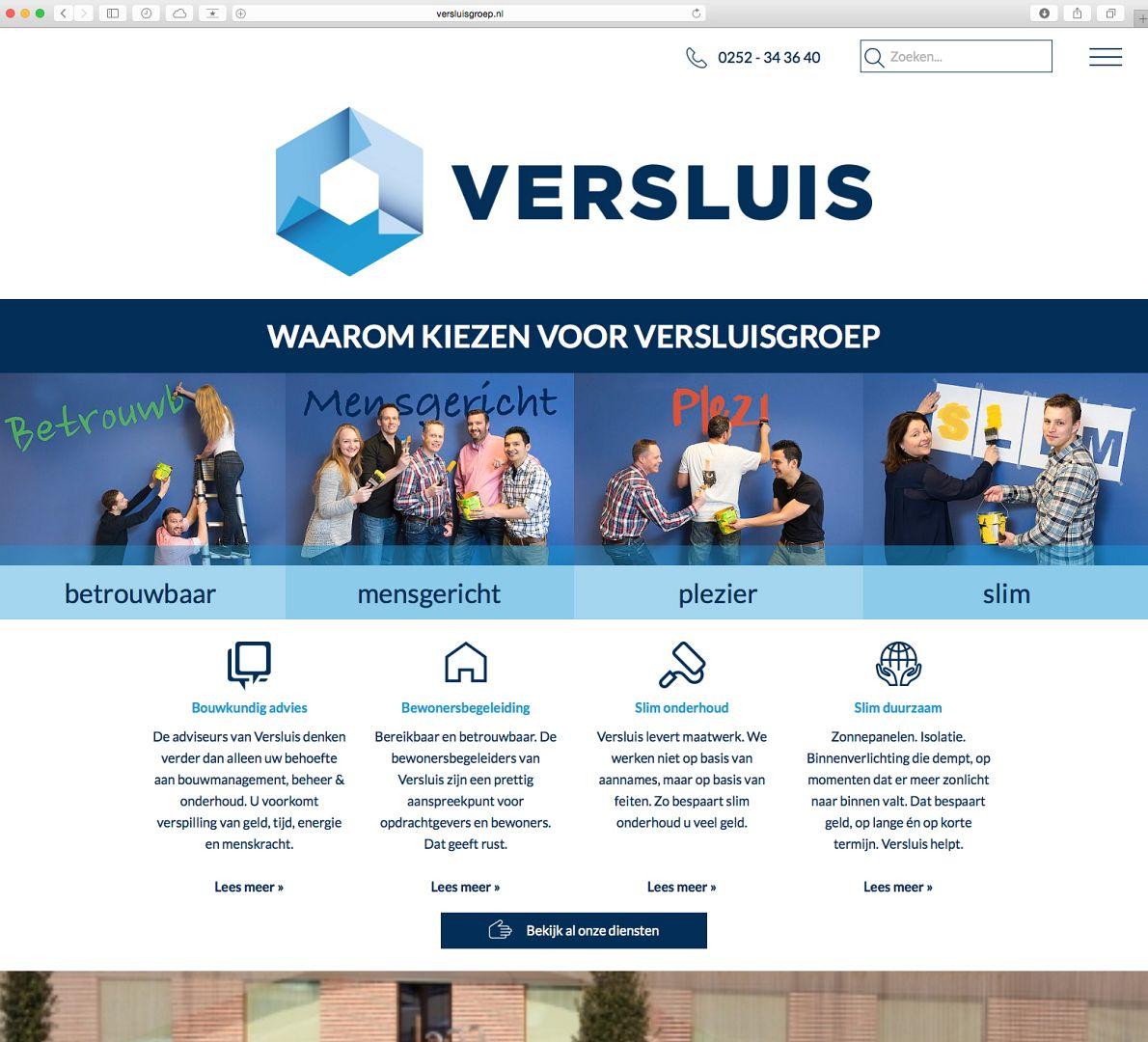 Webdesign Versluisgroep
