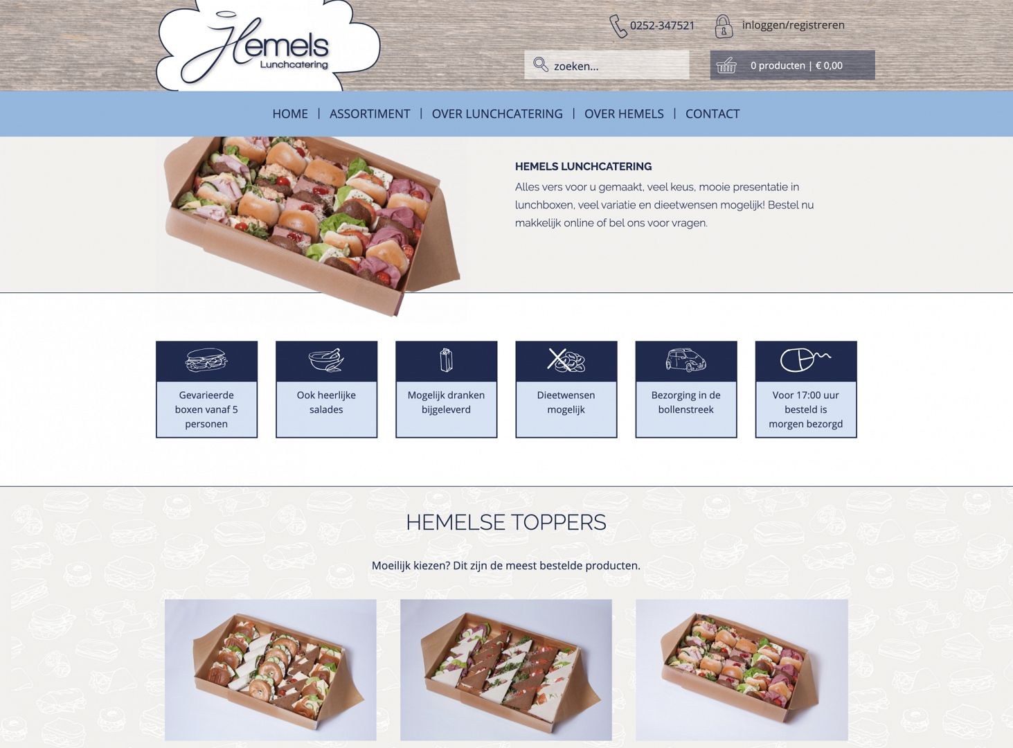 Hemels lunchcatering