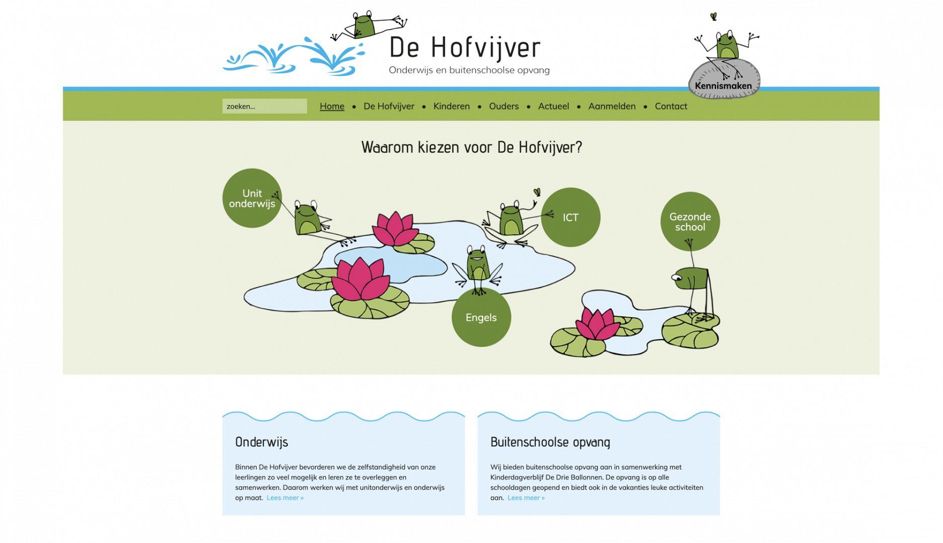 Hofvijver-website